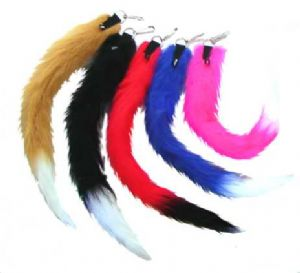 ACC05 Tails-Furry(Clip On). Faux Fur Furry Tail available in 8 Standard Colours plus custom colours